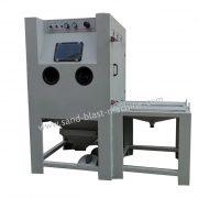 turntable sandblast machine