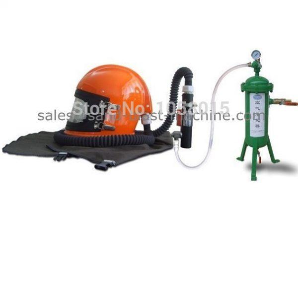 sandblast helmet kit