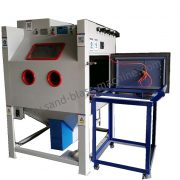 Drum Sandblasting Cabinet | JL Sandblasting Equipment