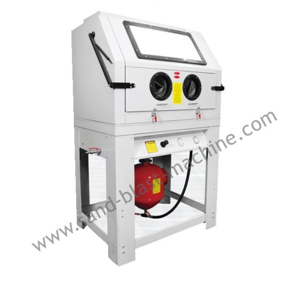990L pressure sandblasting cabinet