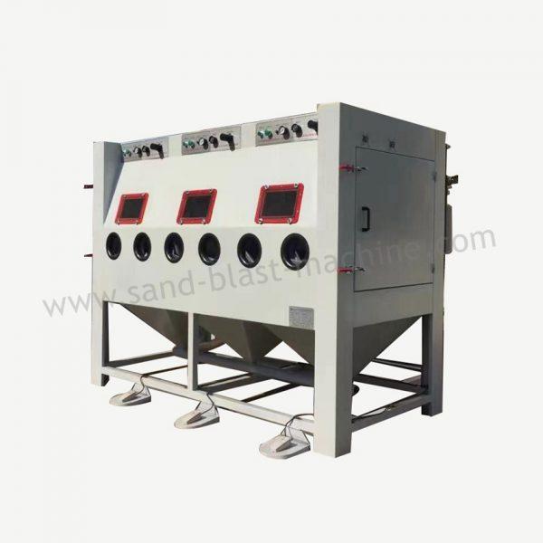 multistage sand blast cabinet