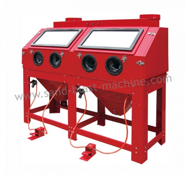 880L Sandblasting cabinet