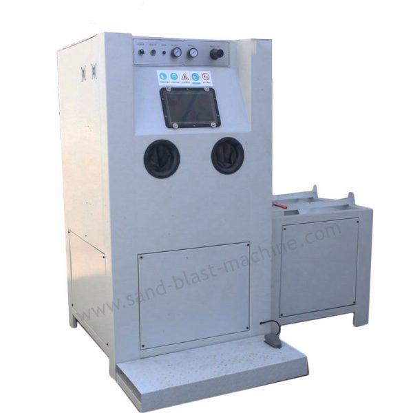 roll collar sandblasting machine