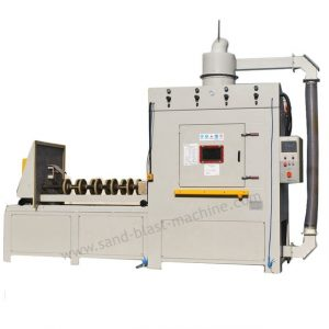 roller guide sand blasting machine