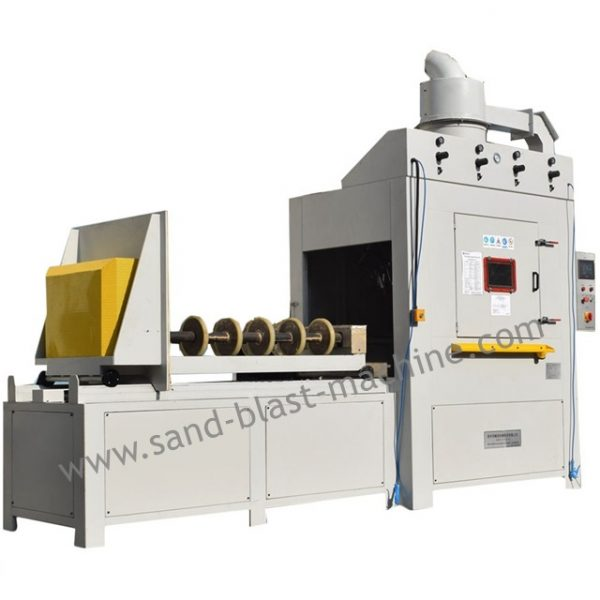 PV slicer guide sandblast equipment